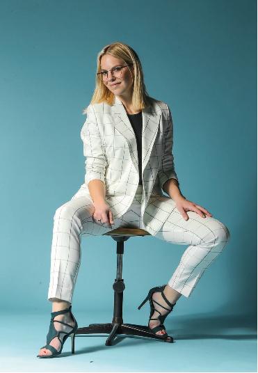 Ladyboss Eline De Munck talks about running her business